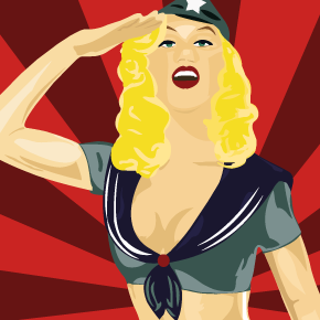 visuel affiche pin_up