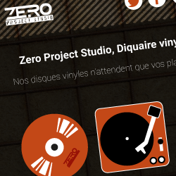visuel webdesign zero project studio